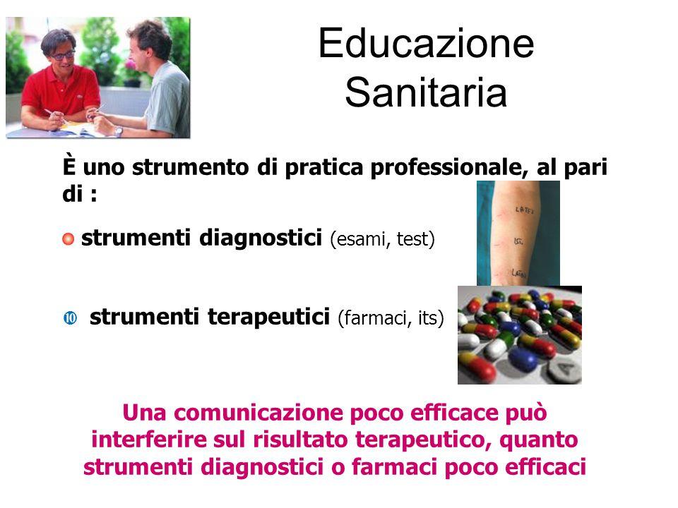 È uno strumento di pratica professionale, al pari di : strumenti diagnostici (esami, test)  strumenti terapeutici (farmaci, its) Una comunicazione po