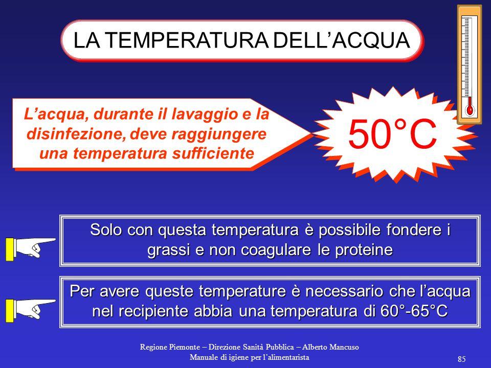 Regione Piemonte – Direzione Sanità Pubblica – Alberto Mancuso Manuale di igiene per l'alimentarista 84 IODOFORI grande spettro d'attività non corrosi