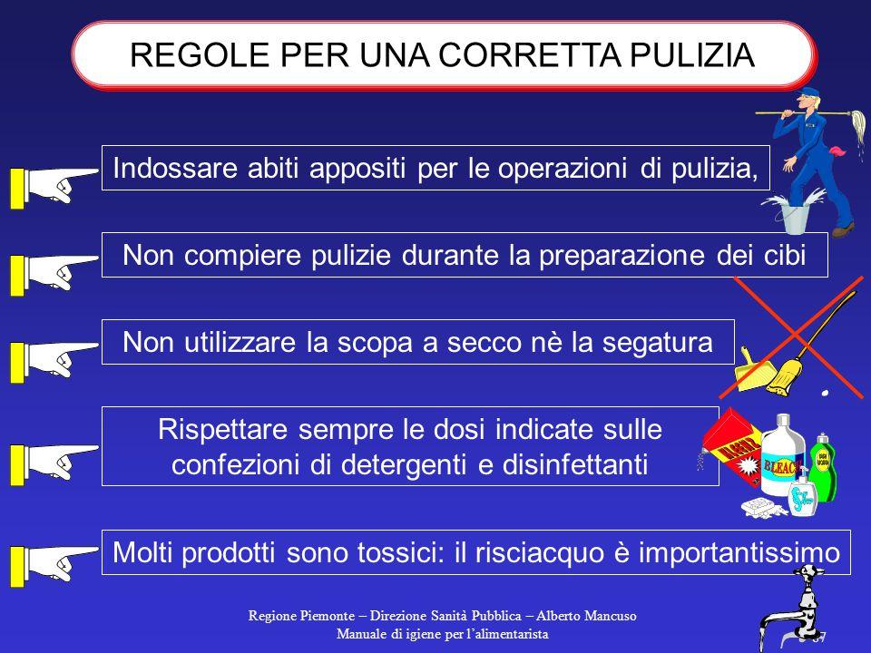 """Regione Piemonte – Direzione Sanità Pubblica – Alberto Mancuso Manuale di igiene per l'alimentarista 86 la macchina deve essere """"visibile"""" in ogni sua"""