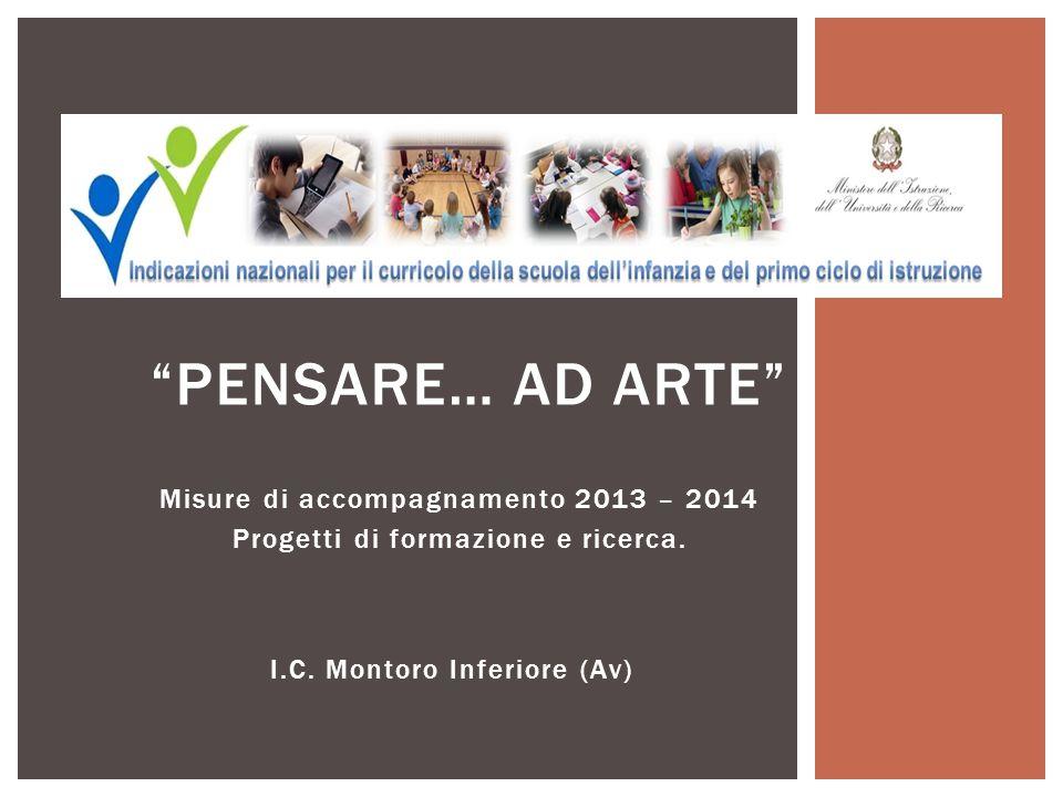 Misure di accompagnamento 2013 – 2014 Progetti di formazione e ricerca.