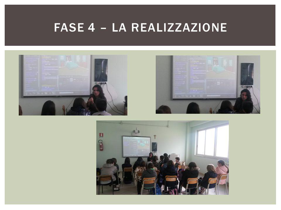 FASE 4 – LA REALIZZAZIONE