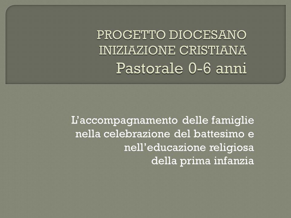 L'accompagnamento delle famiglie nella celebrazione del battesimo e nell'educazione religiosa della prima infanzia