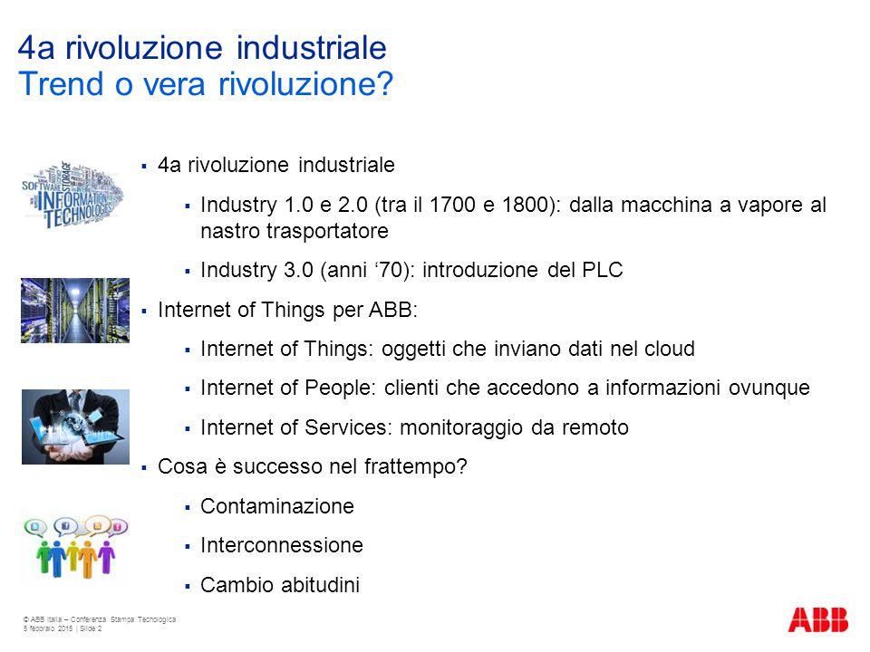 4a rivoluzione industriale  4a rivoluzione industriale  Industry 1.0 e 2.0 (tra il 1700 e 1800): dalla macchina a vapore al nastro trasportatore  I