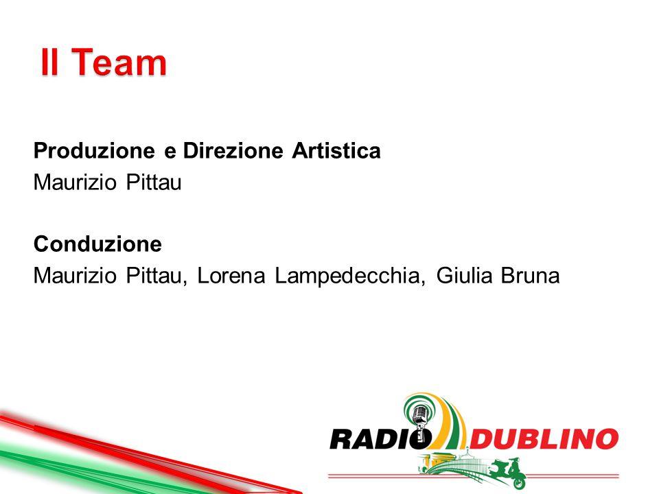 Parole Parole Parole (stagione 2013/2o14) : Giulia Bruna  Radio Dublino News (stagione 2013/2014): Paolo Bergomi  Radio Dublino Retrò (stagioni 2013/2014 – 2014/2015): Marco Baracchi, Marya Arenella