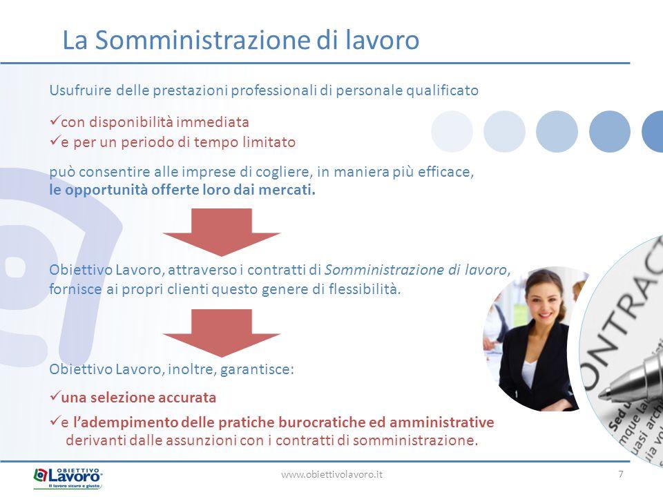 www.obiettivolavoro.it8 La formazione del personale costituisce un'attività fondamentale per la crescita di un'azienda e la valorizzazione delle risorse umane.