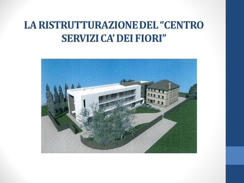 LA RISTRUTTURAZIONE DEL CENTRO SERVIZI CA' DEI FIORI
