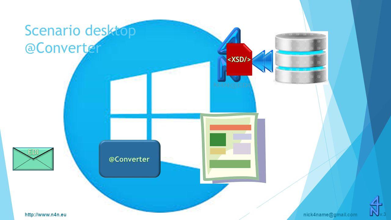 http://www.n4n.eunick4name@gmail.com v.3 Scenario desktop @Converter