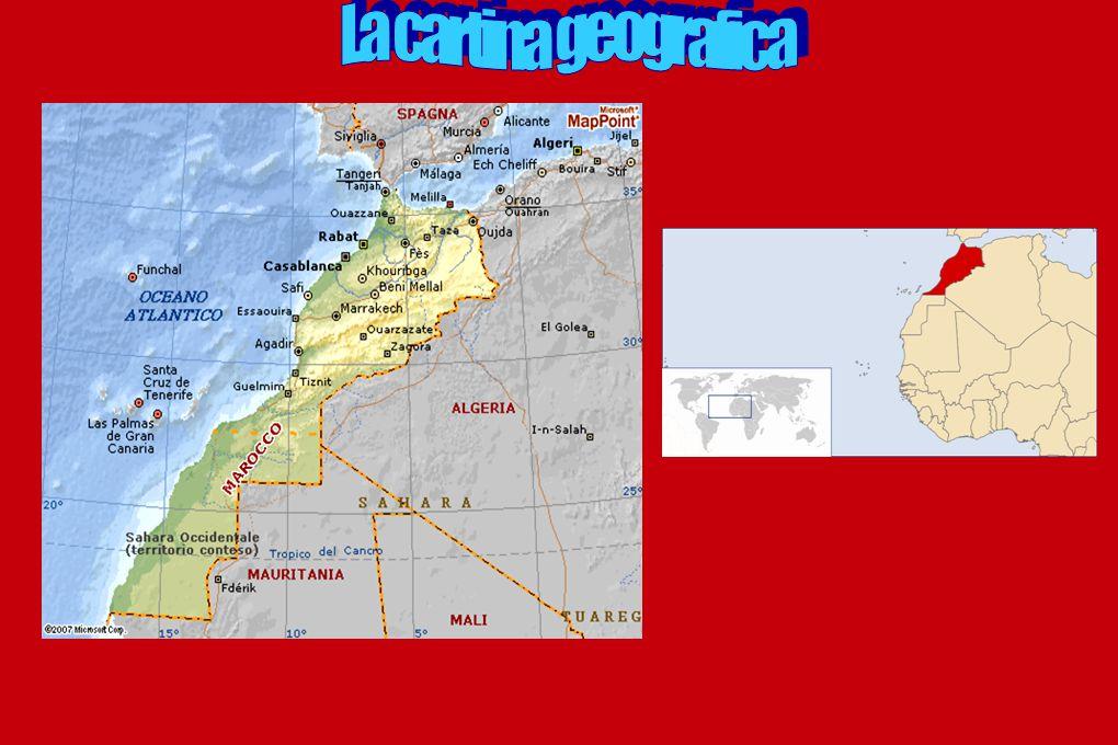 La geografia fisica del Marocco è caratterizzata dalla presenza di due grandi catene montuose: quella del Rif, a ridosso della costa mediterranea, e quella dell Atlante che attraversa tutto il Paese da sud-ovest a nord-est ed ha vette che superano i 4.000 m s.l.m..