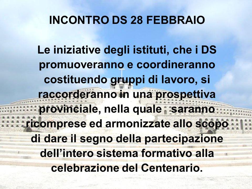 Un apporto significativo nella scoperta e conoscenza da parte degli alunni dei luoghi che sono stati il teatro degli scontri può venire dalla Rete Outdoor di cui è capofila l'Istituto Duca degli Abruzzi di Treviso.