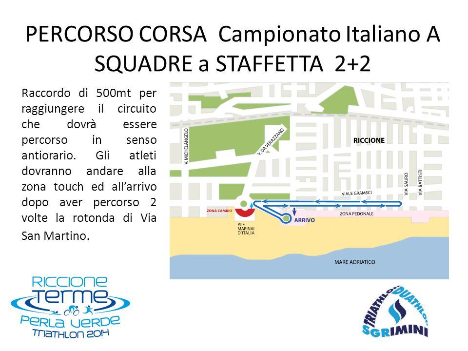 Rettangolo di 750mt da percorrersi in senso ORARIO con partenza dalla Spiaggia Libera di P.le San Martino ed uscita dal Bagno 49 PERCORSO NUOTO COPPA CRONO