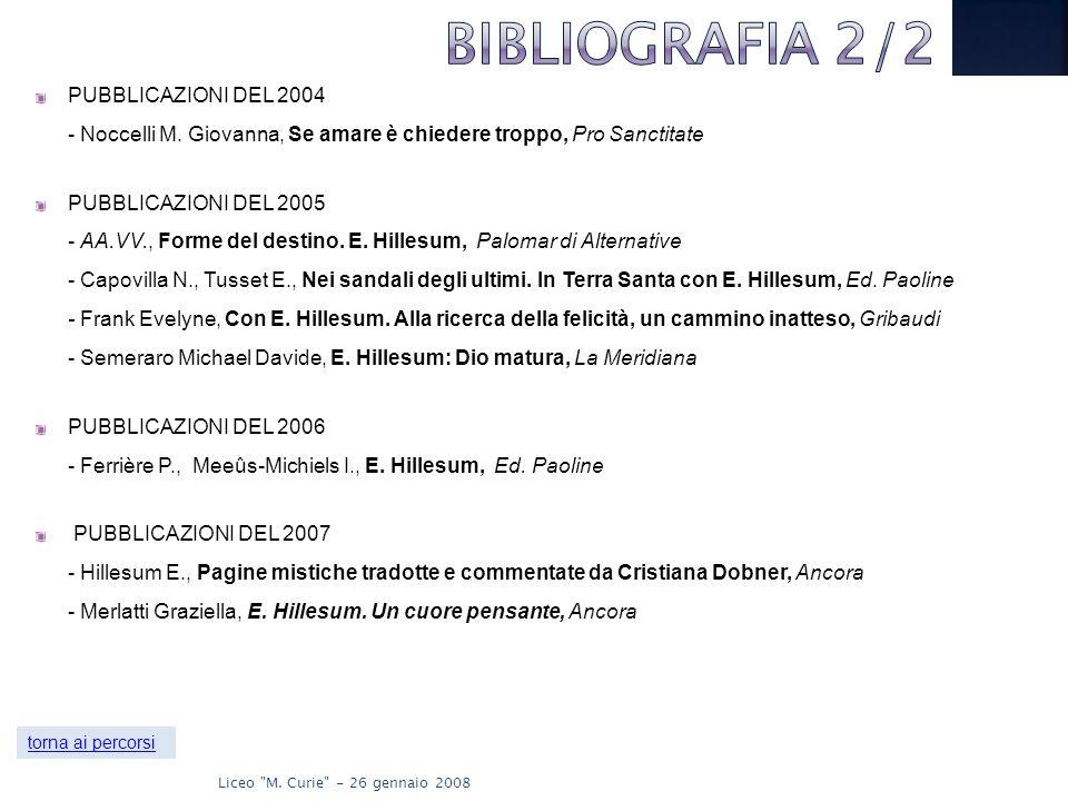 PUBBLICAZIONI DEL 2004 - Noccelli M.