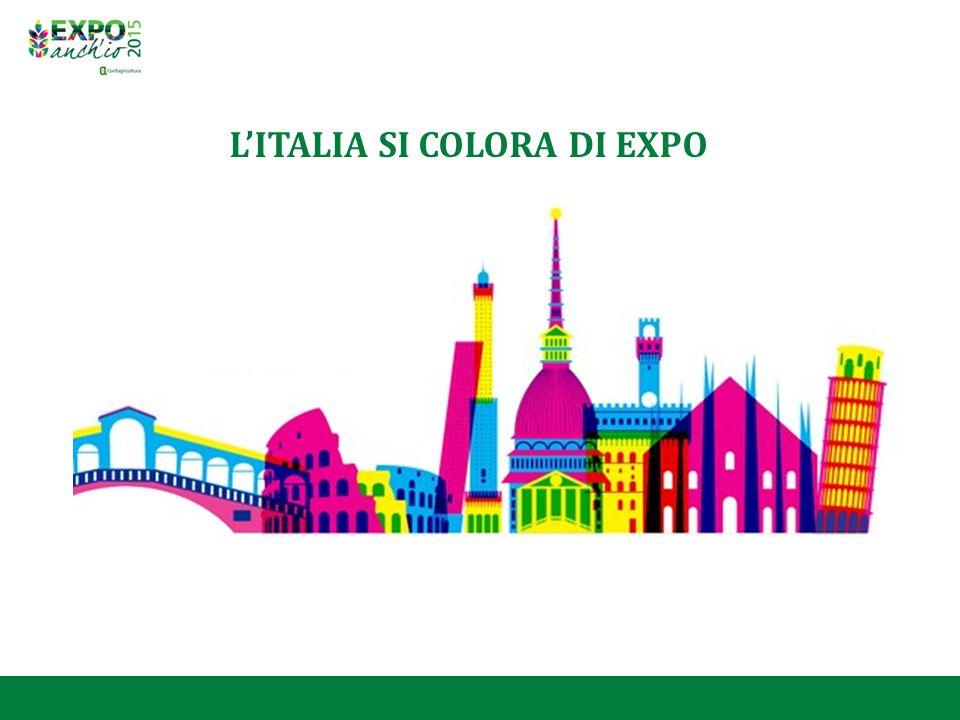 L'ITALIA SI COLORA DI EXPO