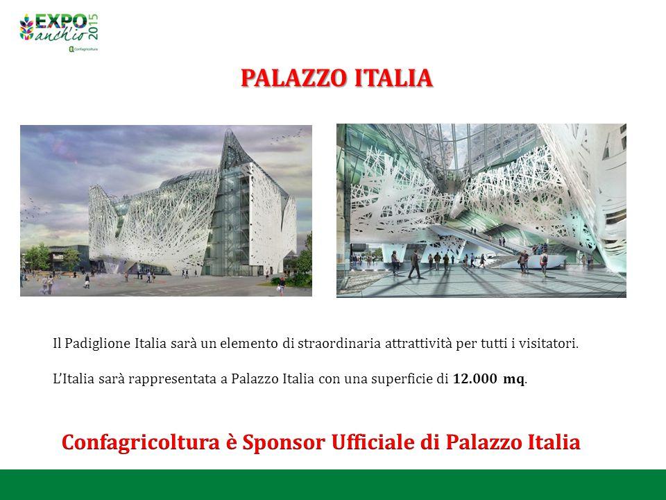 PALAZZO ITALIA Il Padiglione Italia sarà un elemento di straordinaria attrattività per tutti i visitatori. L'Italia sarà rappresentata a Palazzo Itali