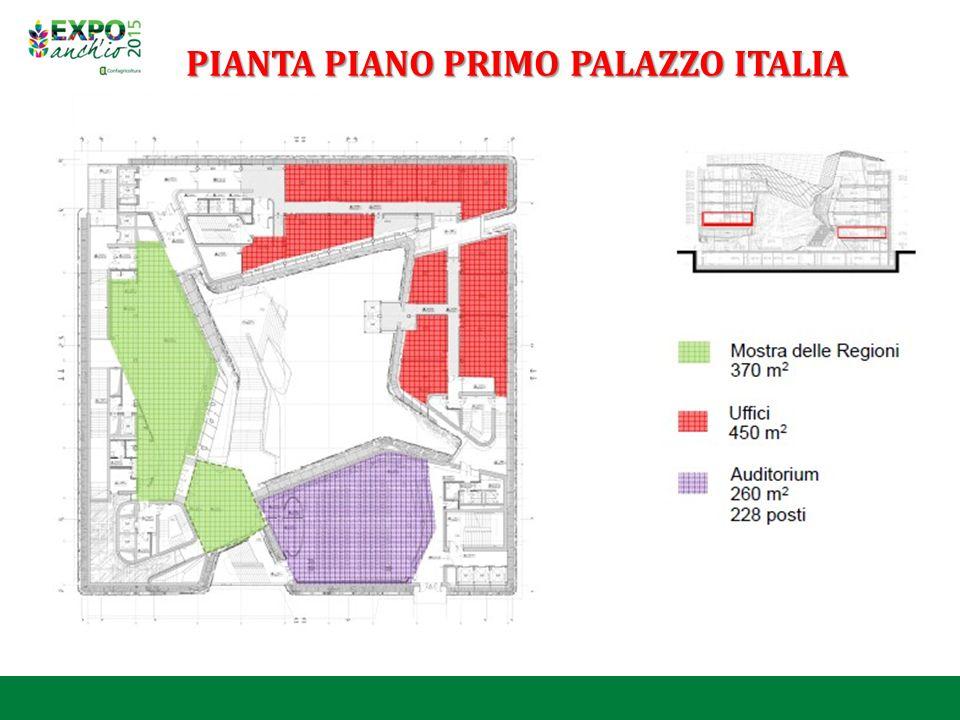 PIANTA PIANO PRIMO PALAZZO ITALIA