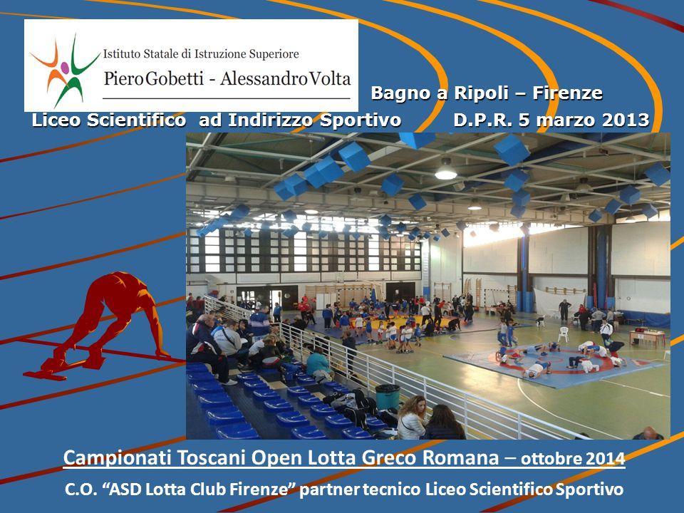 Campionati Toscani Open Lotta Greco Romana – ottobre 2014 C.O.