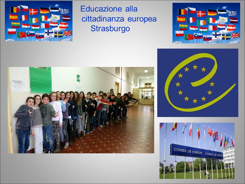 Educazione alla cittadinanza europea Strasburgo