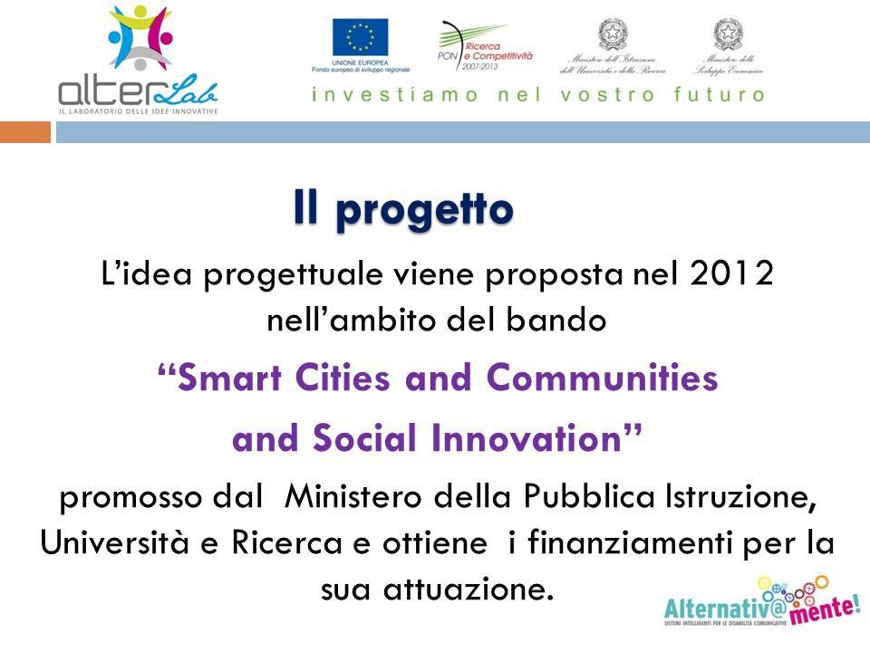 """L'idea progettuale viene proposta nel 2012 nell'ambito del bando """"Smart Cities and Communities and Social Innovation"""" promosso dal Ministero della Pub"""