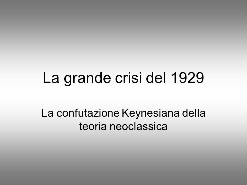 Parole di Keynes Presto o tardi sono le idee, non gli interessi costituiti, che sono pericolose, sia in bene che in male