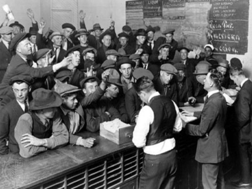 Il problema cruciale è la disoccupazione John Maynard Keynes