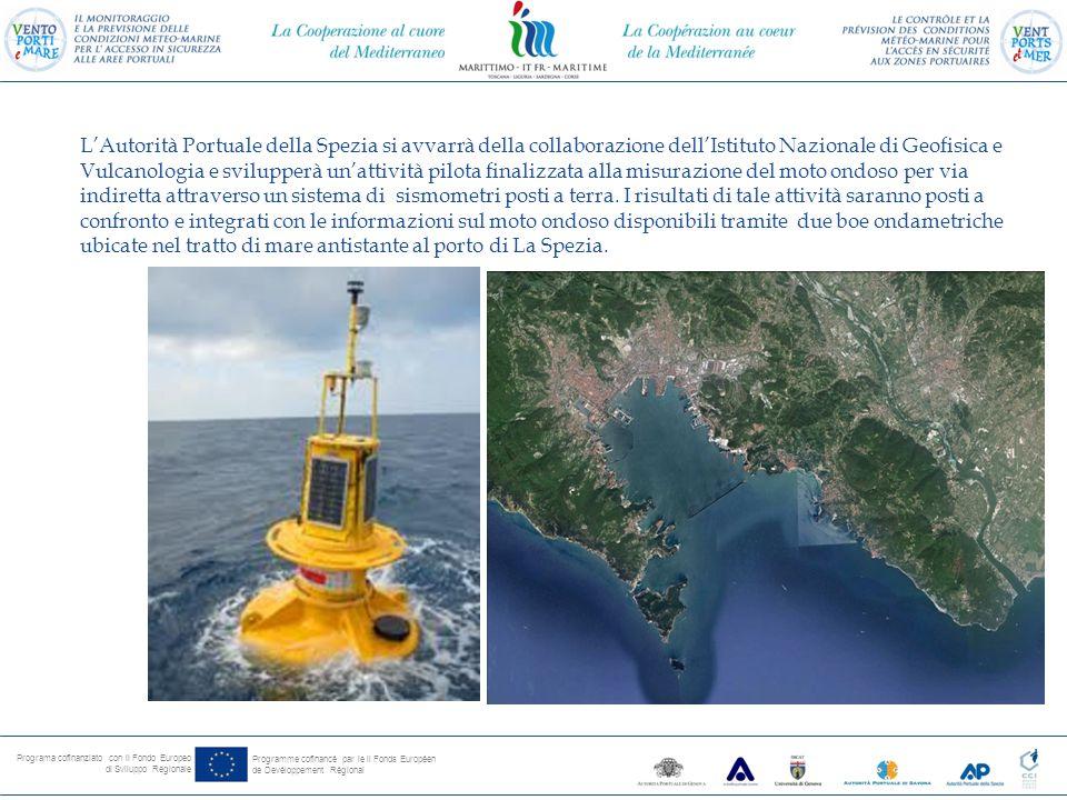 Programa cofinanziato con il Fondo Europeo di Sviluppo Regionale Programme cofinancé par le il Fonds Européen de Devéloppement Régional Il Progetto ha una durata di 23 mesi e si concluderà il 31 maggio 2015.