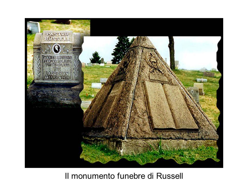 Il monumento funebre di Russell