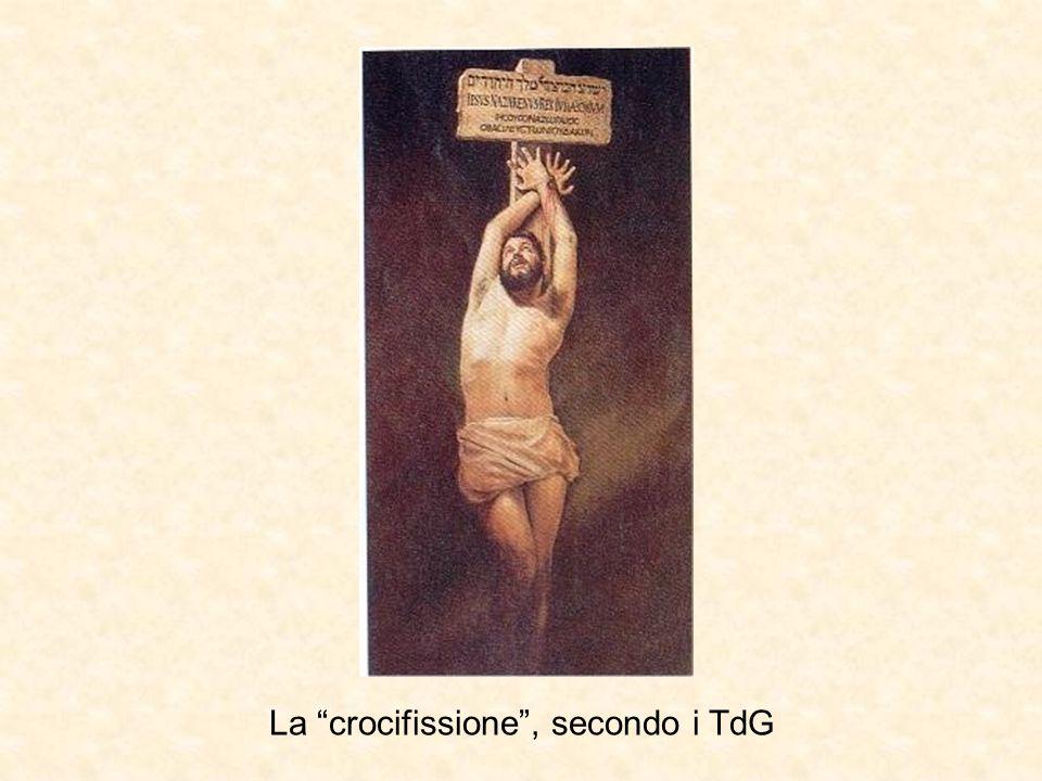"""La """"crocifissione"""", secondo i TdG"""