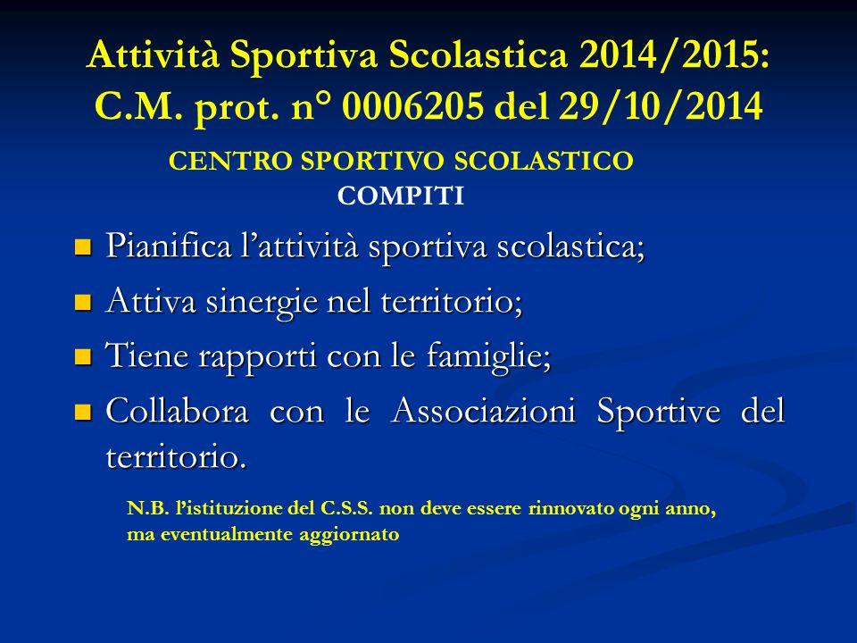 CERTIFICAZIONE MEDICA Per gli alunni partecipanti ai C.S., dalla fase d'Istituto fino alle Finali Regionali, è previsto il certificato d'idoneità all'attività sportiva non agonistica.