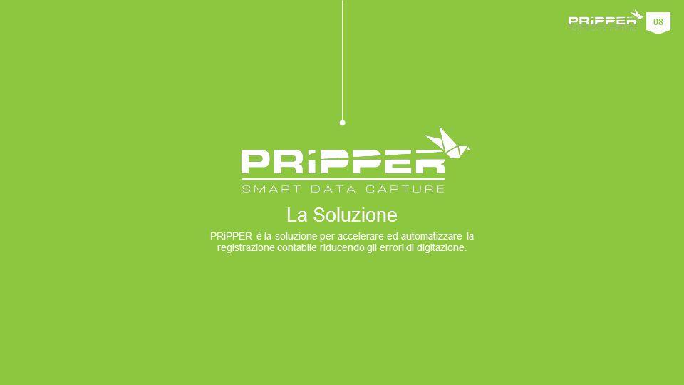 PRiPPER è la soluzione per accelerare ed automatizzare la registrazione contabile riducendo gli errori di digitazione.