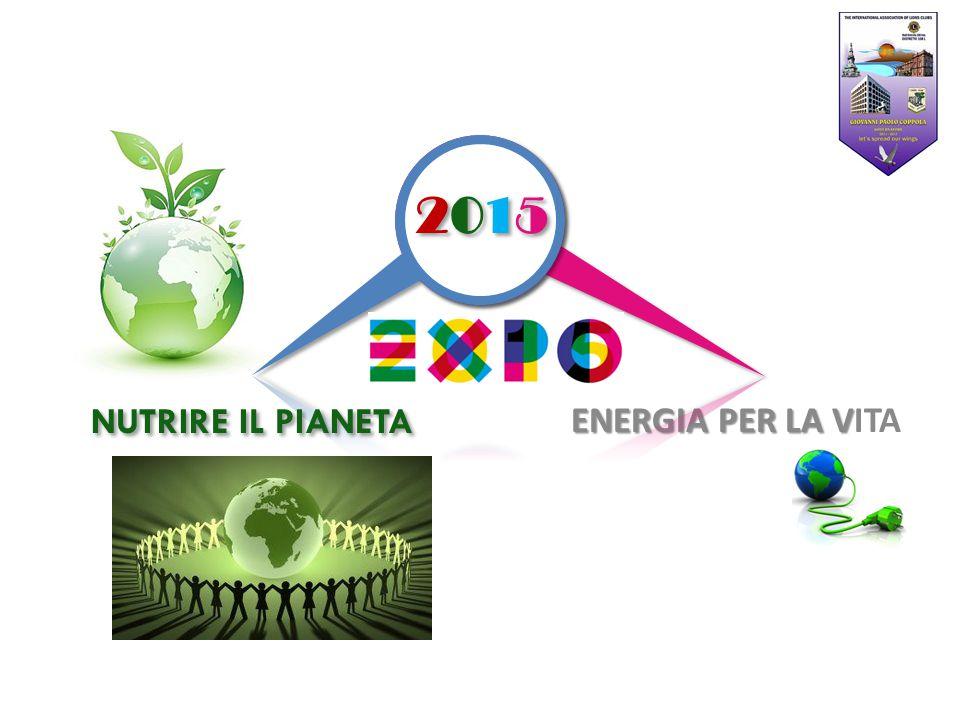 ENERGIA PER LA V ENERGIA PER LA VITA 2015 2015 2015 2015 NUTRIRE IL PIANETA