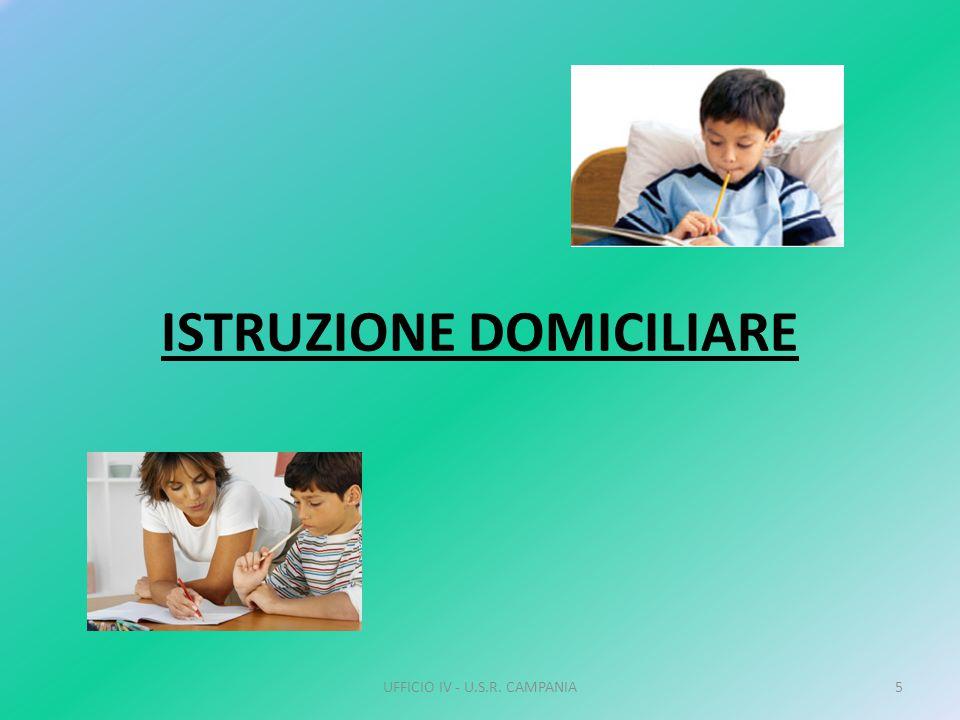 ISTRUZIONE DOMICILIARE UFFICIO IV - U.S.R. CAMPANIA5