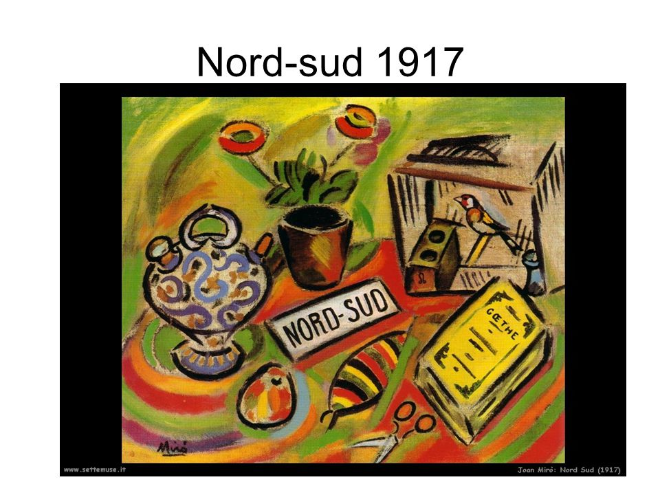Nord-sud 1917