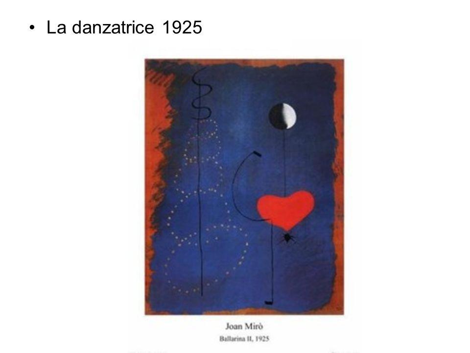 La danzatrice 1925