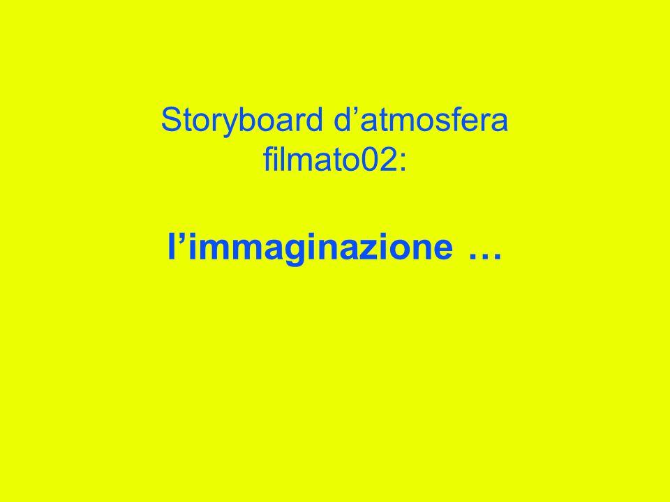 Storyboard d'atmosfera filmato02: l'immaginazione …