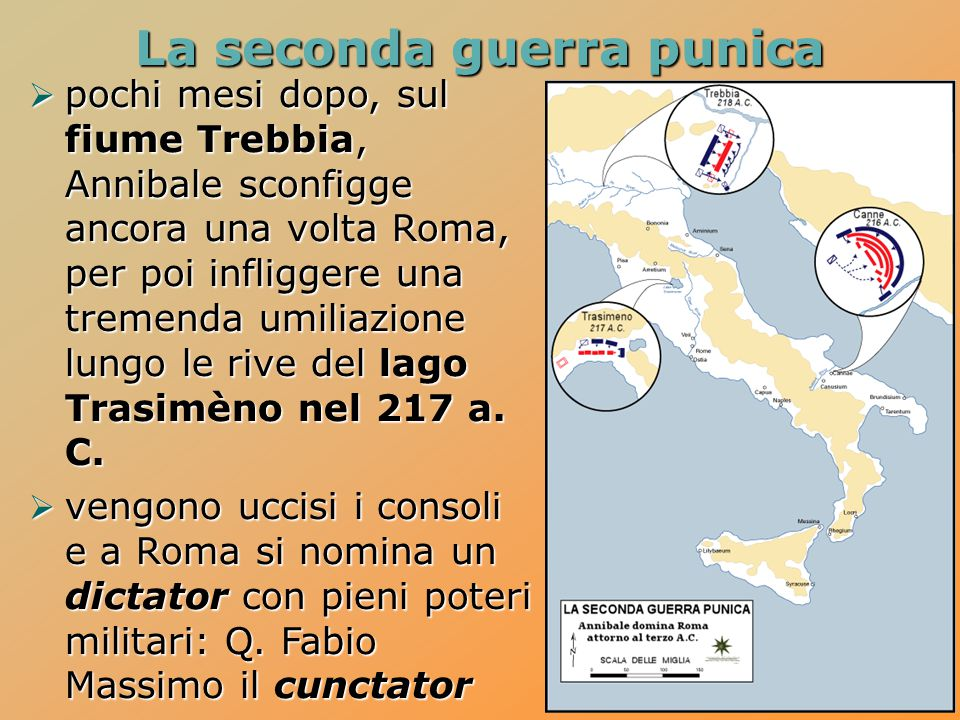  pochi mesi dopo, sul fiume Trebbia, Annibale sconfigge ancora una volta Roma, per poi infliggere una tremenda umiliazione lungo le rive del lago Trasimèno nel 217 a.