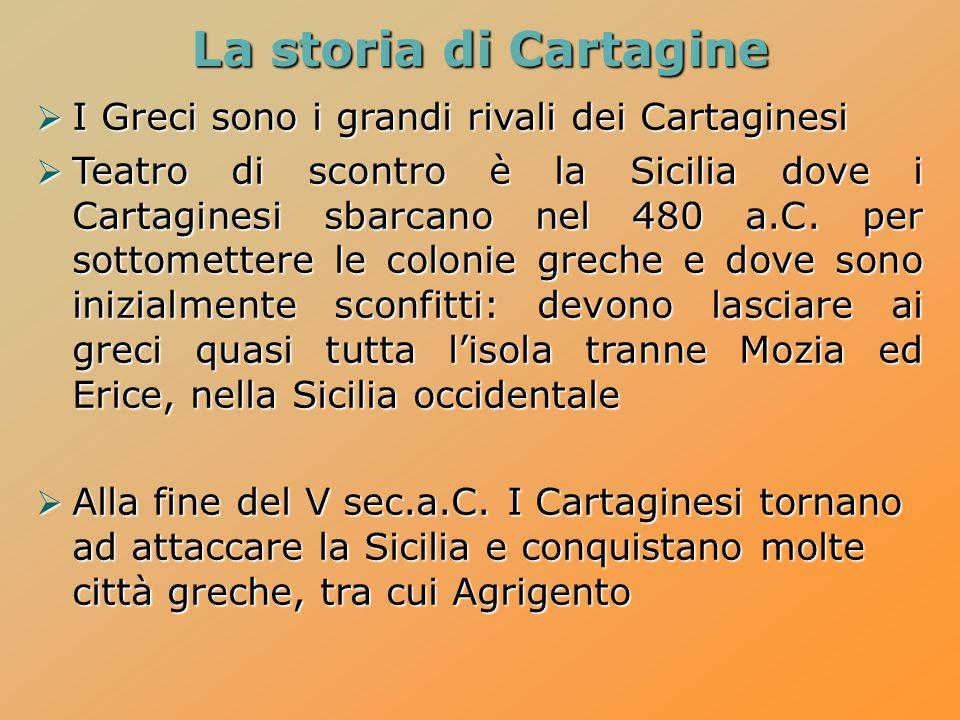 Lo scontro con Cartagine  La prima guerra punica ha inizio nel 264 a.C.