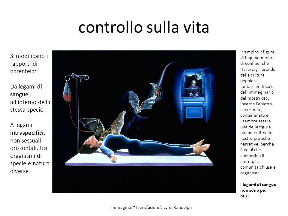 controllo sui corpi Immagine: Immeasurable Results , Lynn Randolph è l immagine di una donna che entra in una macchina della risonanza magnetica (MRI), uno dei nuovi dispositivi di imaging medicale che promettono tanto.