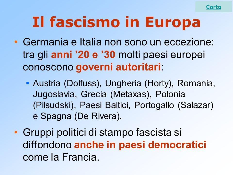 Dal socialfascismo al frontismo I fascismi si affermano anche a causa dell'atteggiamento dei comunisti che equiparano i socialisti e fascisti e rifiutano ogni alleanza e collaborazione.
