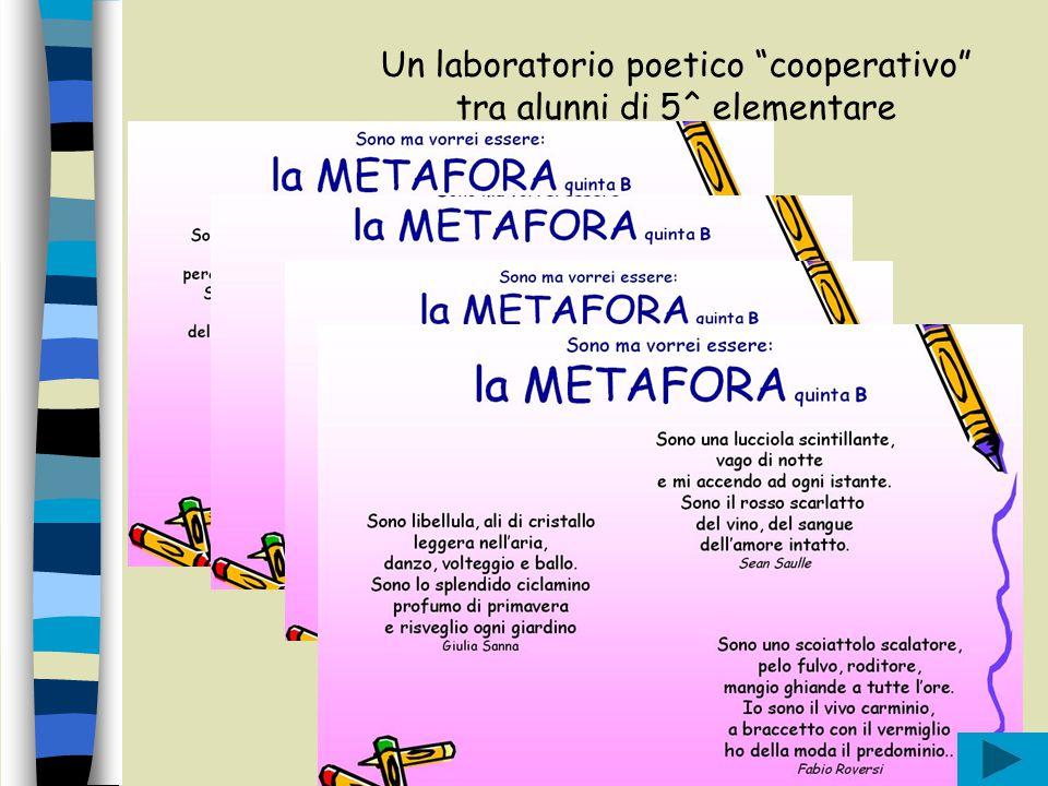 """Fortic - équipe gamma Un laboratorio poetico """"cooperativo"""" tra alunni di 5^ elementare"""