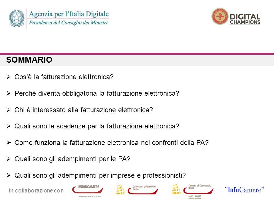 In collaborazione con COS'È LA FATTURAZIONE ELETTRONICA?