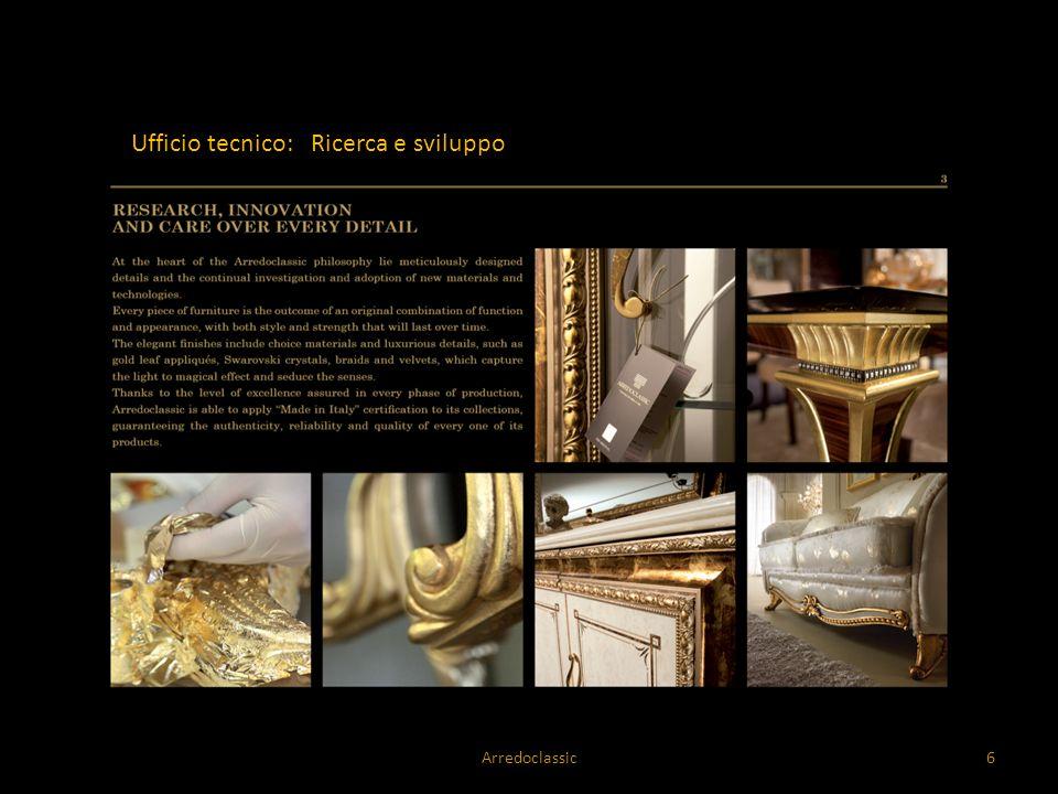 Ufficio tecnico: Ricerca e sviluppo Arredoclassic6