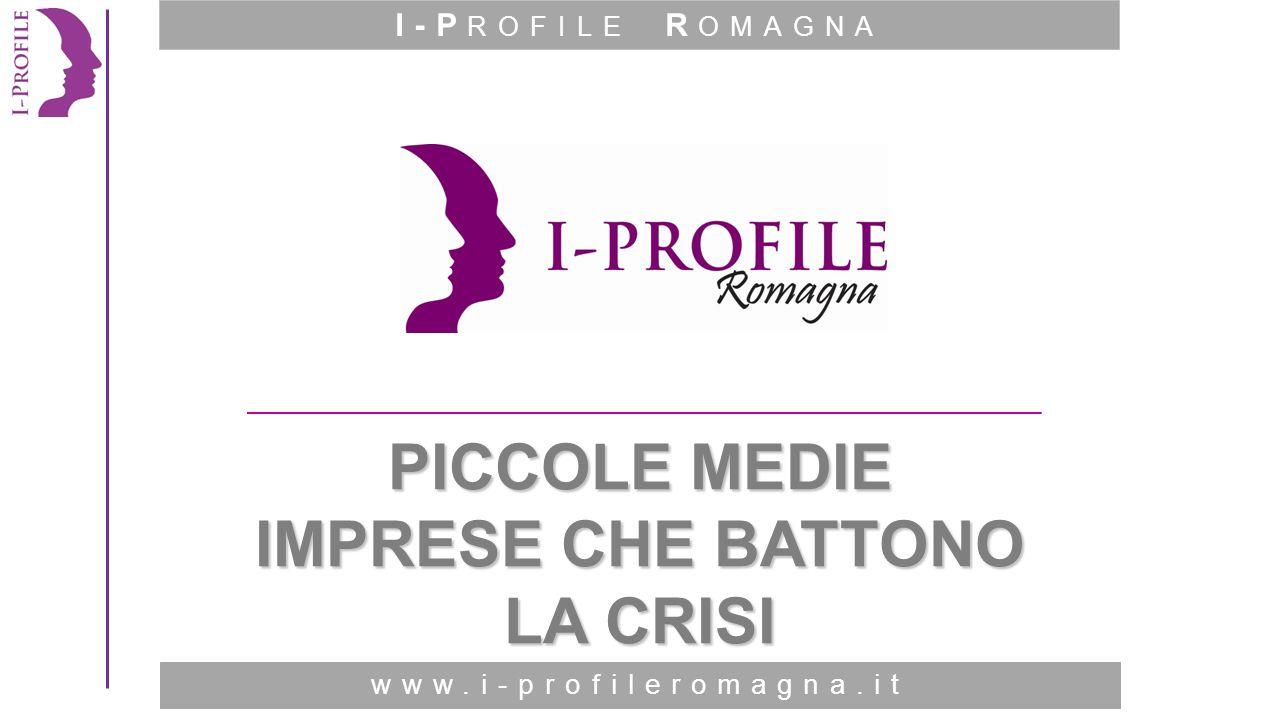 www.i-profileromagna.it Hanno imparato ad agire con idee e paradigmi diversi e a dare risposte diverse ai problemi che possono presentarsi in azienda.