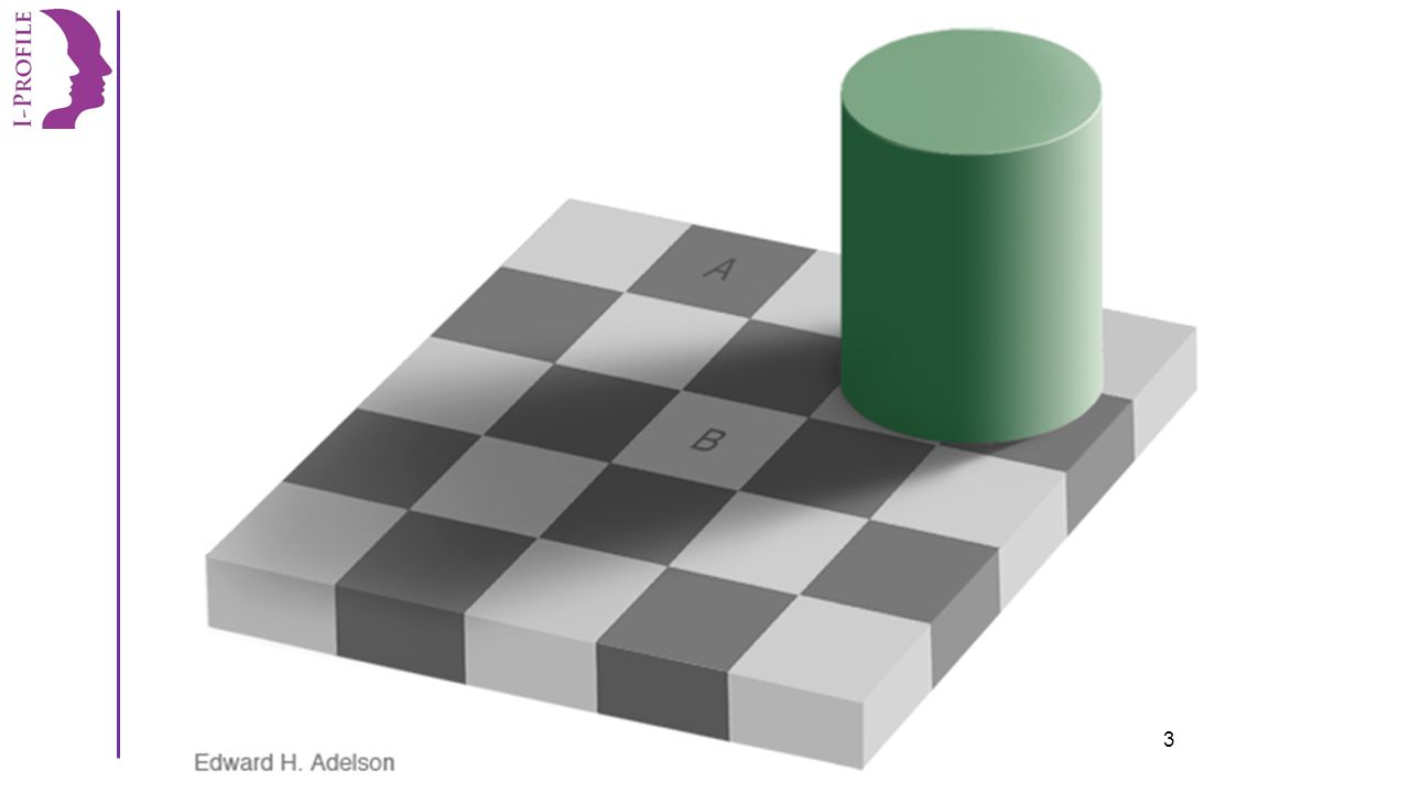 www.i-profileravenna.it I colori dei quadrati A e B sono uguali ? 4