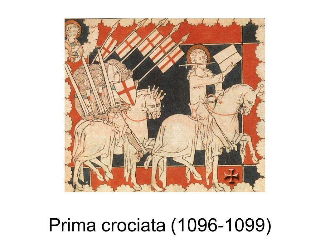 3° crociata La terza crociata, condotta dall'imperatore Federico Barbarossa, e poi da Filippo II Augusto,e dal re d'Inghilterra, fu organizzata perché nel 1187 Gerusalemme era stata ripresa dai Turchi passati all'offensiva sotto la guida del grande sultano Saladino, la terza crociata ebbe come unico risultato la creazione del regno di Cipro.
