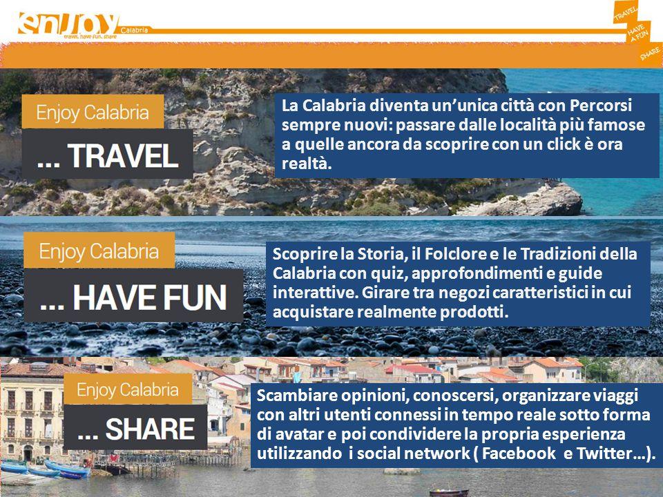 La Calabria diventa un'unica città con Percorsi sempre nuovi: passare dalle località più famose a quelle ancora da scoprire con un click è ora realtà.