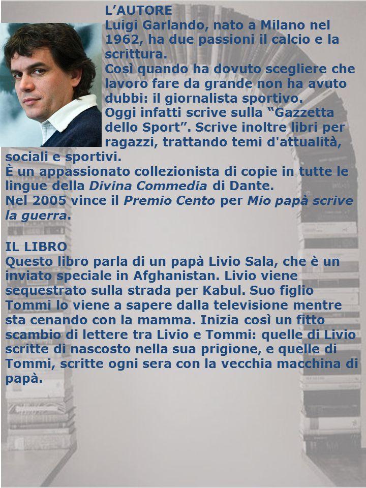 L'AUTORE Luigi Garlando, nato a Milano nel 1962, ha due passioni il calcio e la scrittura. Così quando ha dovuto scegliere che lavoro fare da grande n