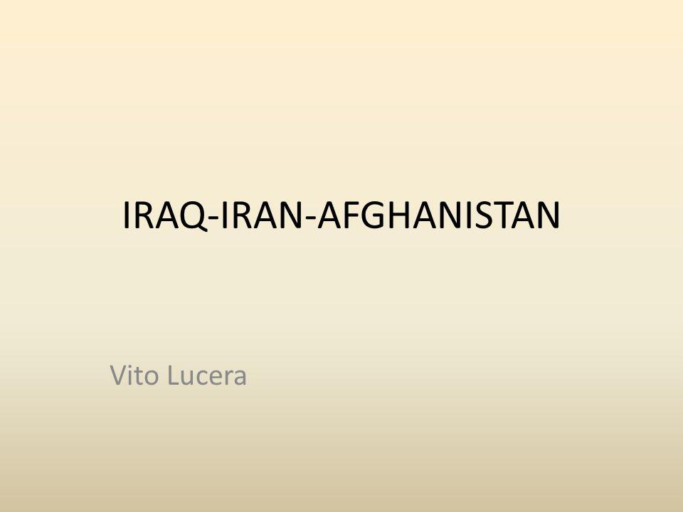 LA GUERRA IRAQ -IRAN Durata del conflitto: 1980-88 Area dei combattimenti: Golfo persico, al confine tra Iran e Iraq.