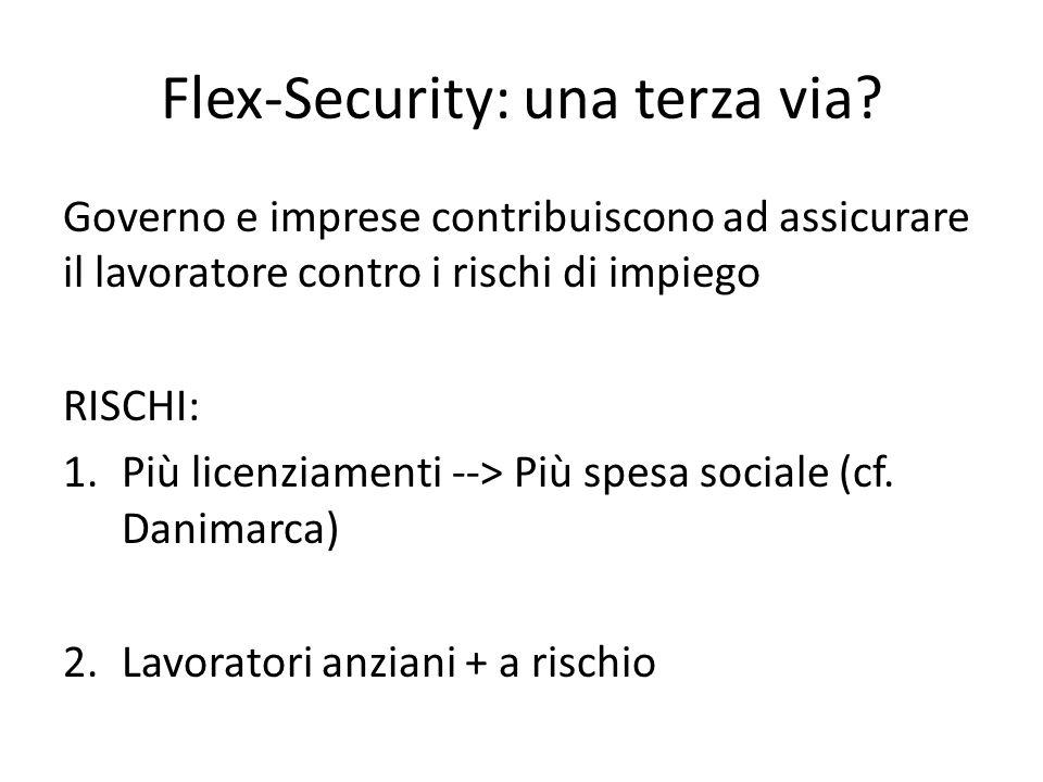 Flex-Security: una terza via.