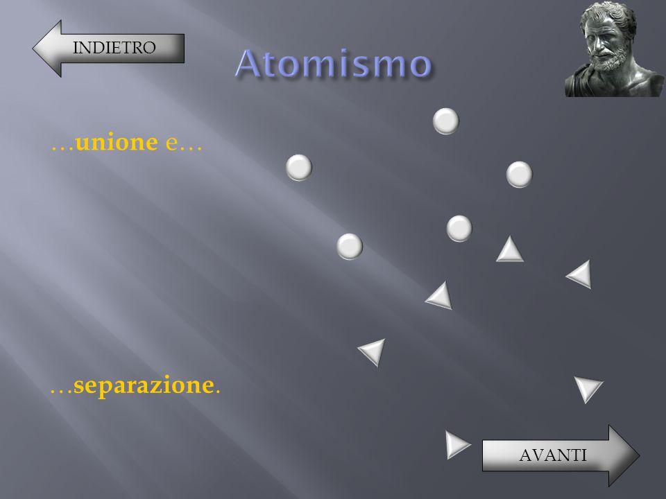 Questi processi avvengono grazie a un moto caotico causato da una f orza (o e nergia ) intrinseca dell'atomo.