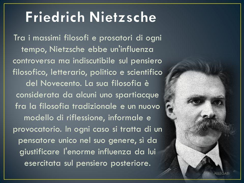Al di là del bene e del male: Preludio di una filosofia dell avvenire è uno dei testi fondamentali, nella filosofia del XIX secolo, di Friedrich Nietzsche.