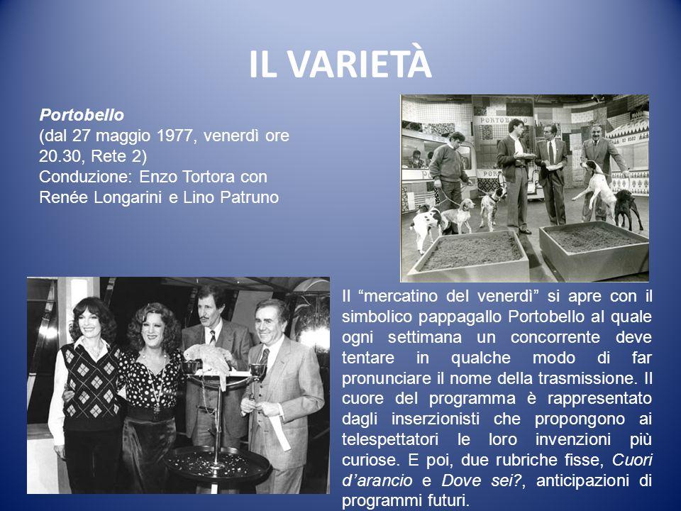 IL VARIETÀ L'altra domenica (dal 28 marzo 1976, domenica ore 13.30, Rete 2) Autori: Renzo Arbore, Maurizio Barendson (solo per il primo anno).